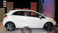 Kia Rio Hatchback Side free image download