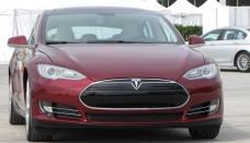 Tesla Model S beta vehicle Fremont Series image Wallpaper Backgrounds