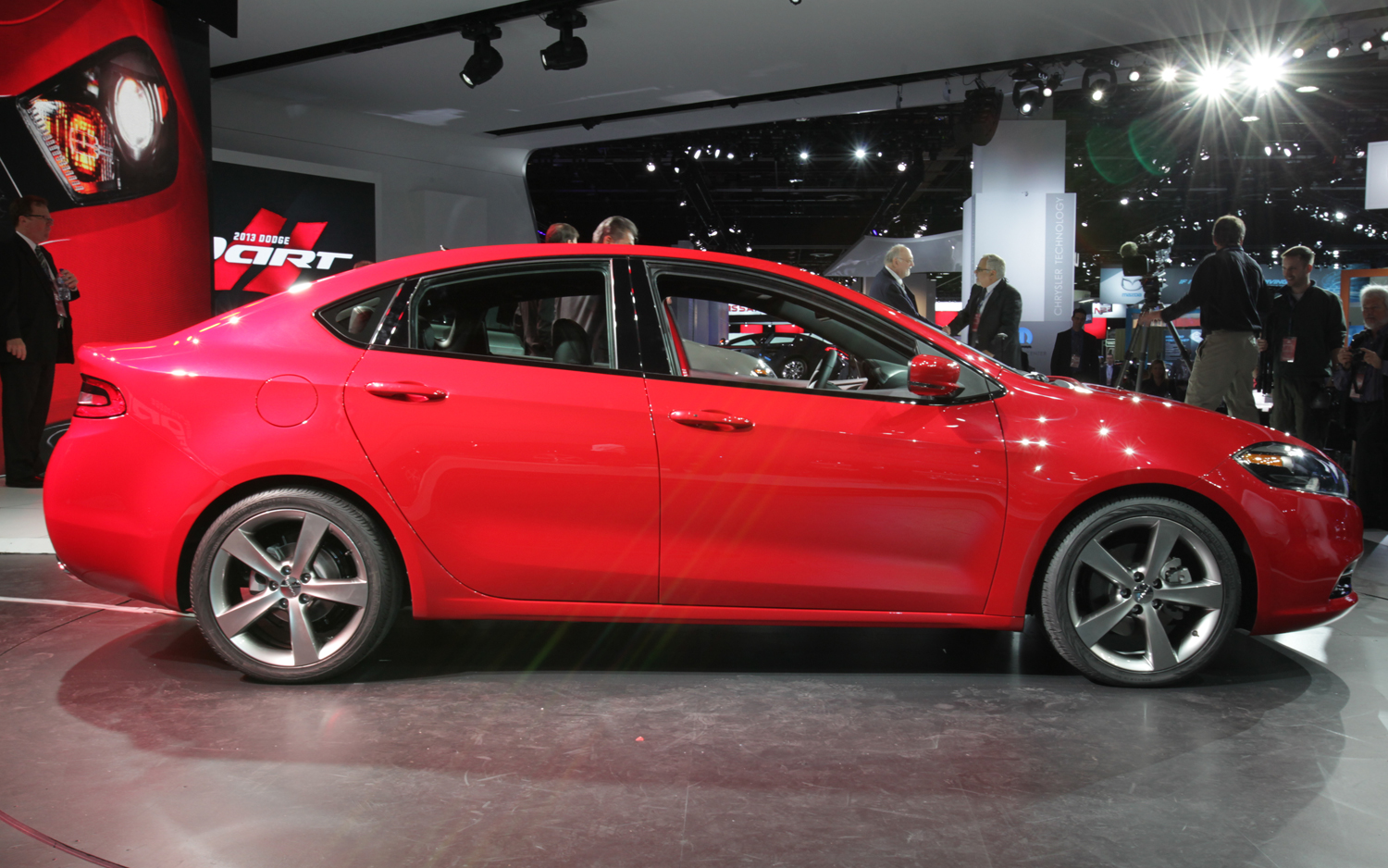 Dodge Dart Side View Photo Wallpaper Backgrounds Wallpaper