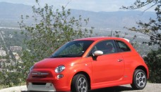 Fiat 500e electric car drive event Free Download Image Of