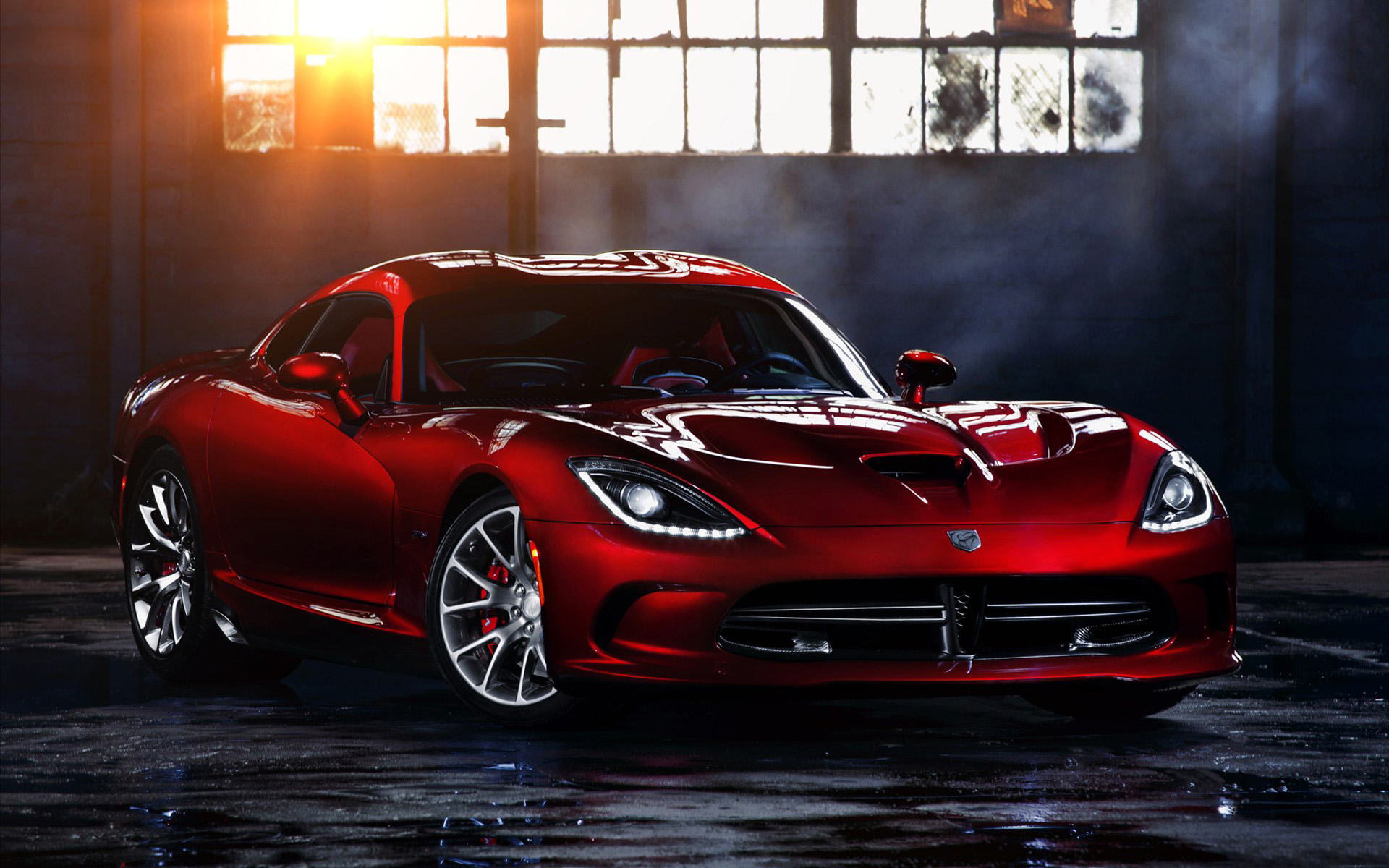 Dodge SRT Viper wide Wallpaper HD Free