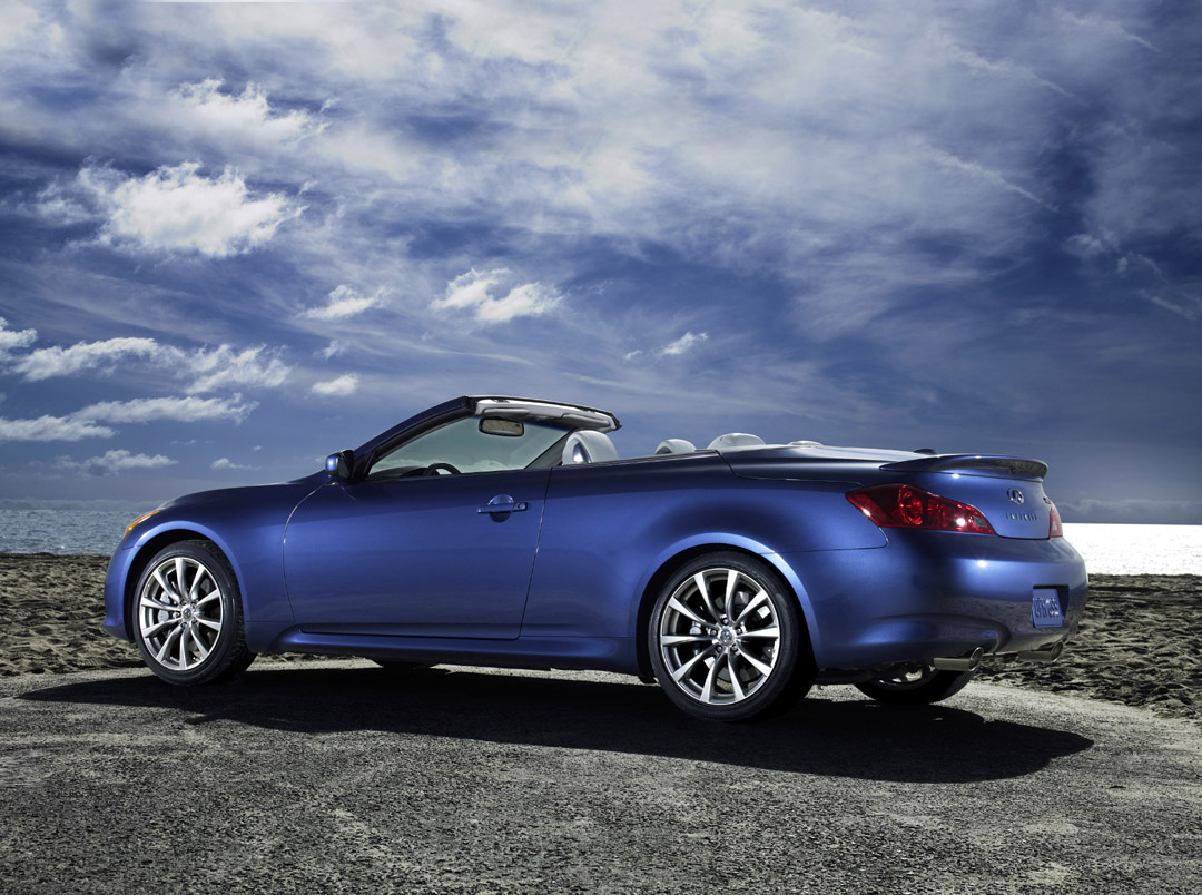 Infiniti G37 Convertible  Wallpaper For Computer