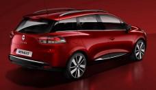 Renault Clio Estate Wagon Revealed At Paris Motor Show High Resolution Image Desktop Backgrounds