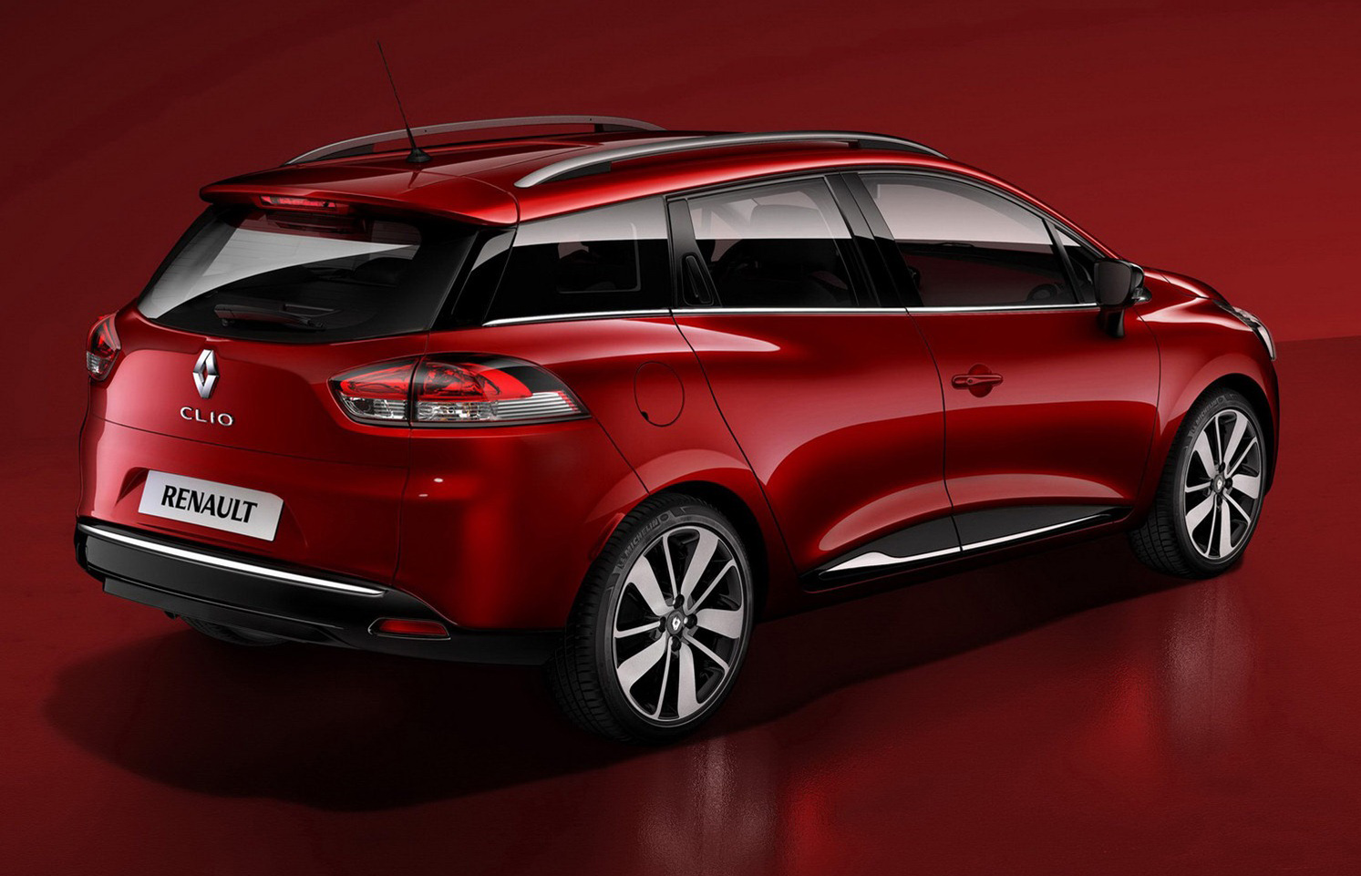 Renault Clio Estate Wagon Revealed At Paris Motor Show High Resolution Image Desktop Backgrounds