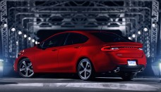 Dodge Dart Rear View Bridge Wallpaper HD Download