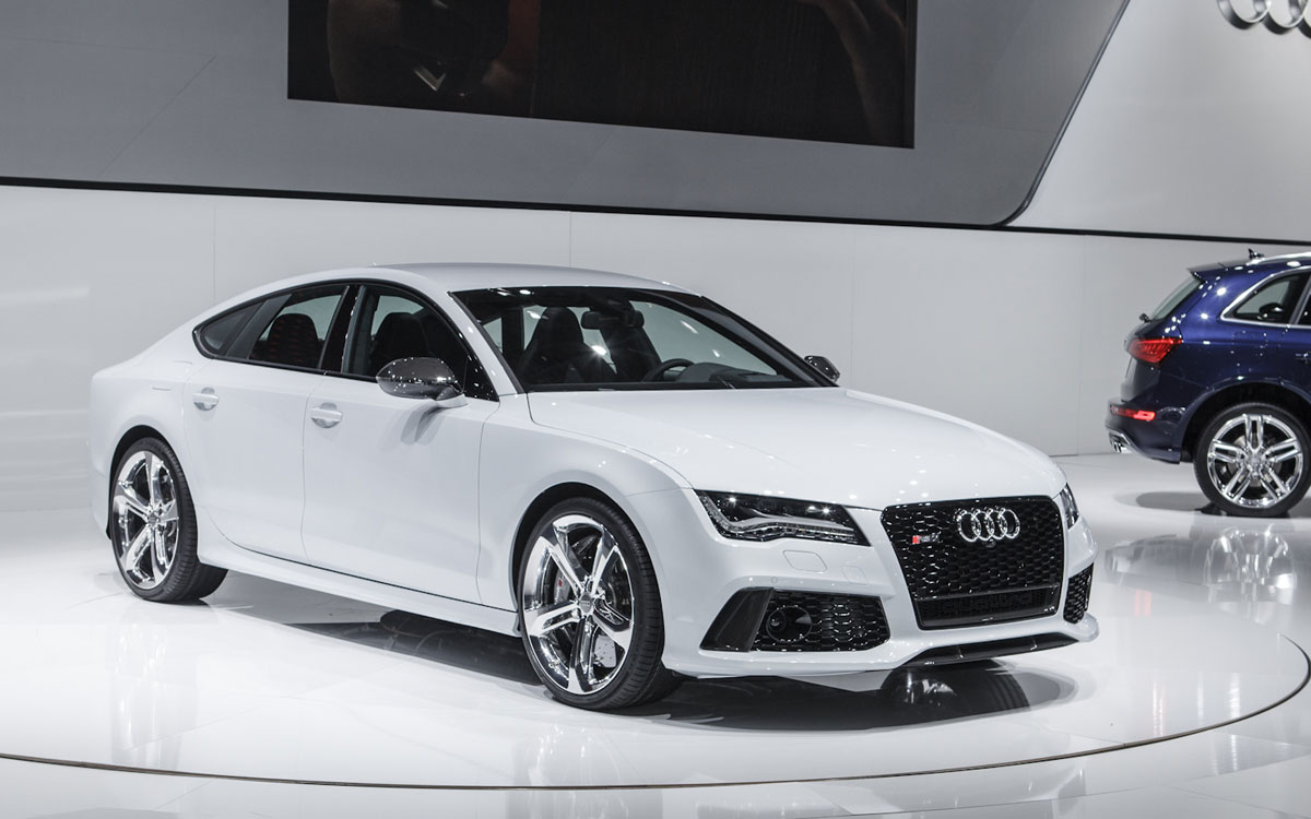 Audi RS7 Displayed at The Detroit Auto Show free download image
