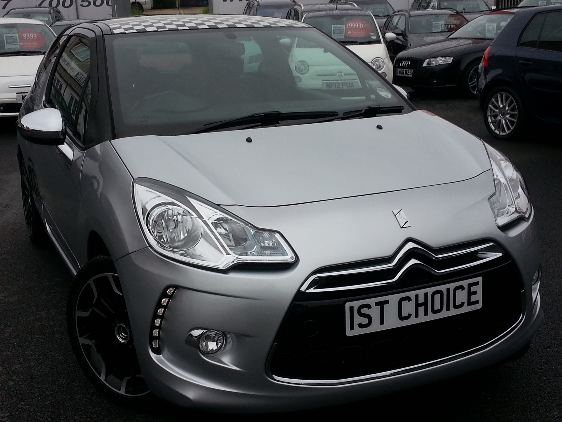 Used CITROEN DS3 DSPORT STUNNING MET SILVER LOW MILEAGE   Free Download Image