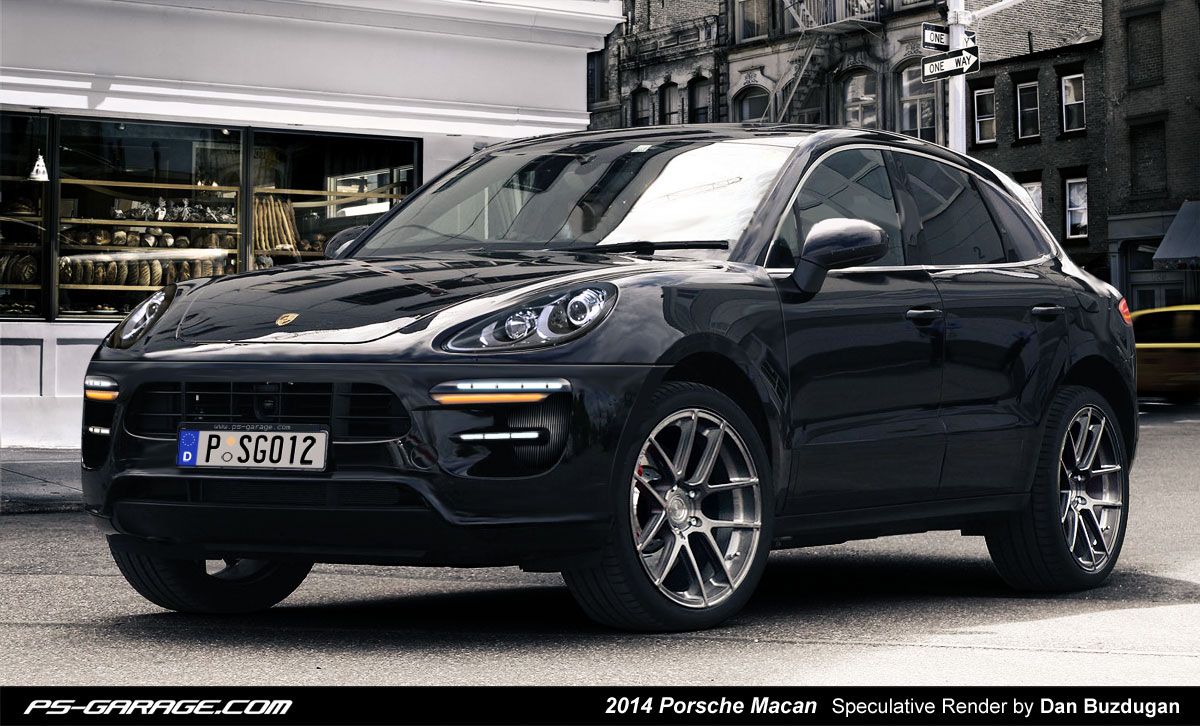 Porsche Macan rendered buzdugan SUV Cuts Camouflage In New Spy Photos Wallpapers HD