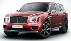 2016 Bentley SUV Rendered free download image