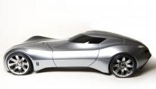 future Bugatti Aerolithe Concept Design Side Free Download Image