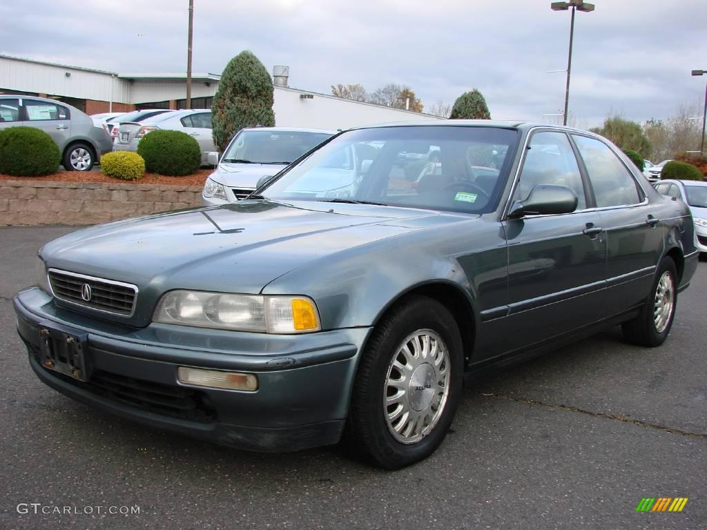 Acura Legend L Sedan Canterbury Green Metallic Color Wallpapers HD