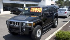 2006 Hummer H3 in Black Wallpaper HD For Android