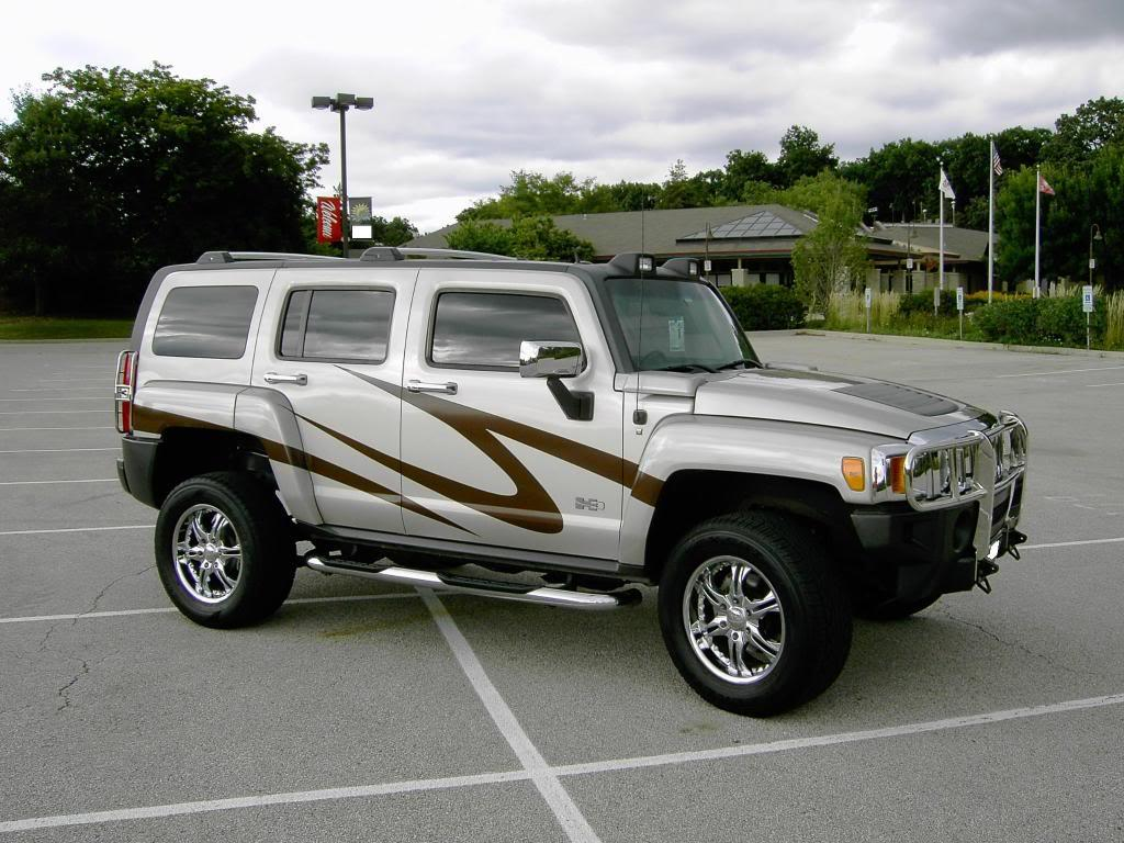 2007 Hummer H3 Free Wallpaper For Ipad