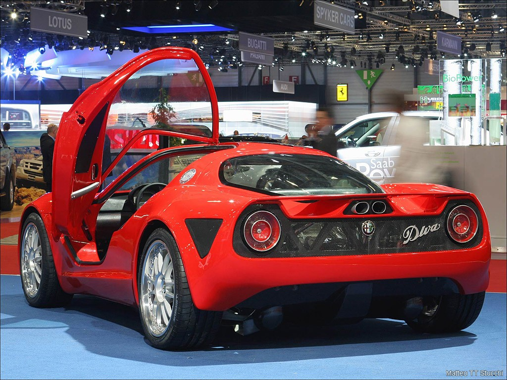 Alfa Romeo Diva the Supercars Rears Preview Of Car Pictures High Resolution Image Download