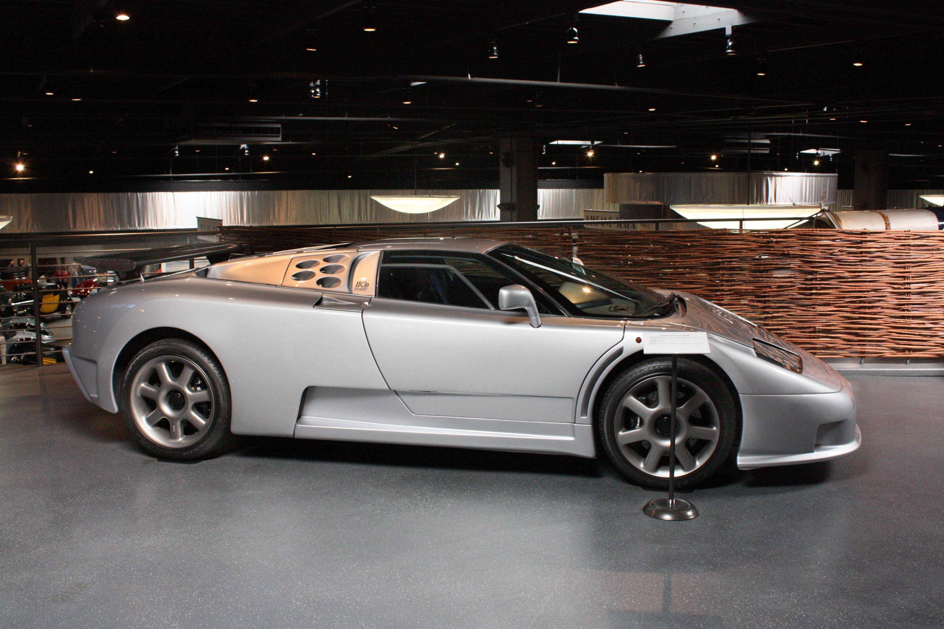 bugatti eb110 ss  silver image download free