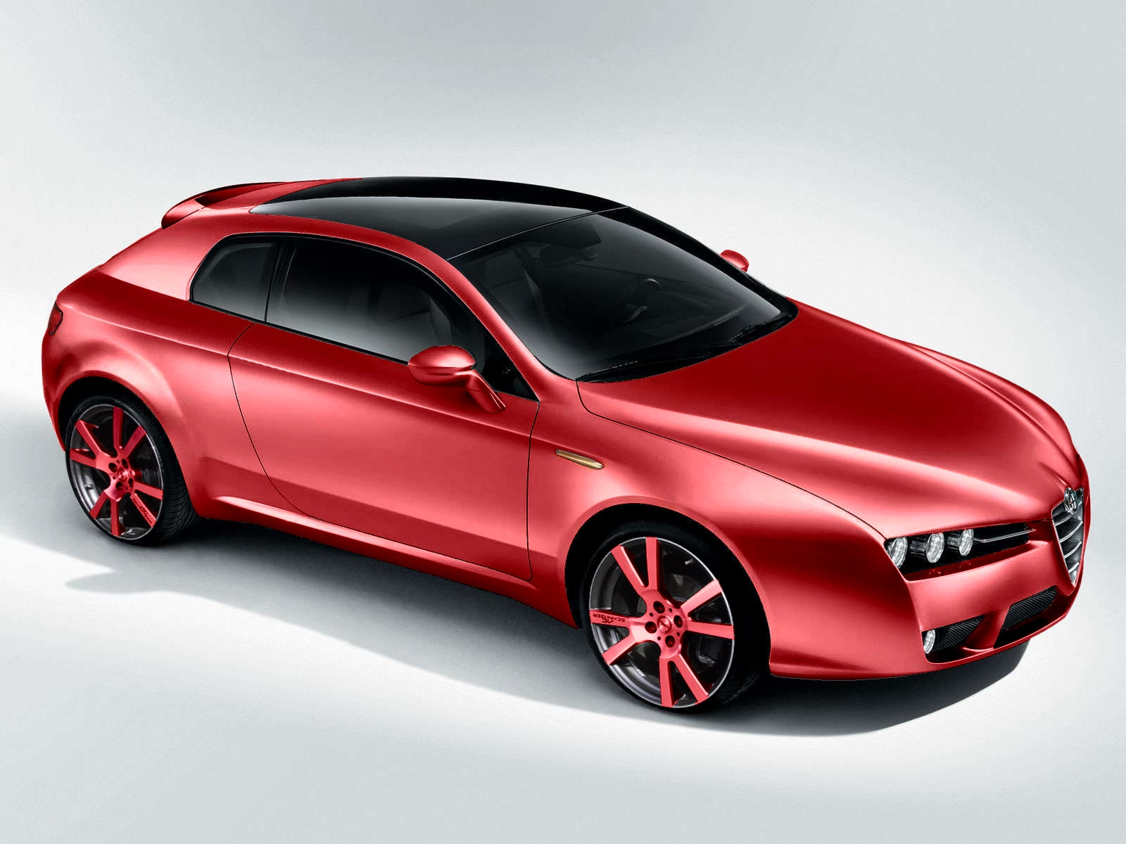 Alfa Romeo Brera Tuning Front High Resolution Image Wallpapers HD