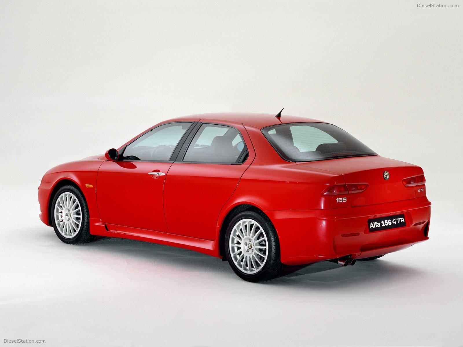 Alfa Romeo 156 GTA High Resolution Image Desktop Backgrounds