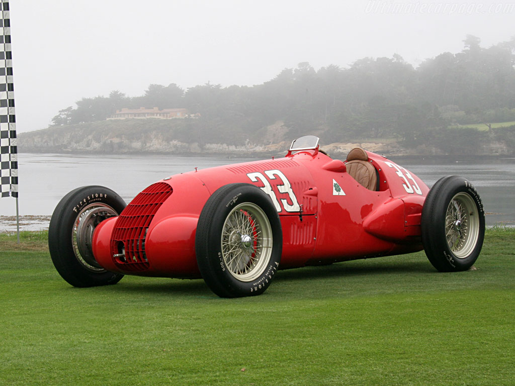 Alfa Romeo 308C High Resolution Image Wallpapers HD