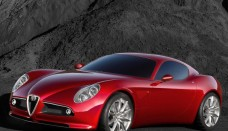 Alfa Romeo 8C Front High Resolution Image Wallpapers HD