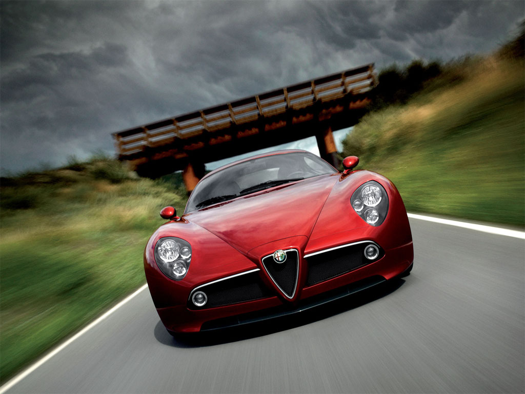 alfa romeo 8c Wallpapers Download