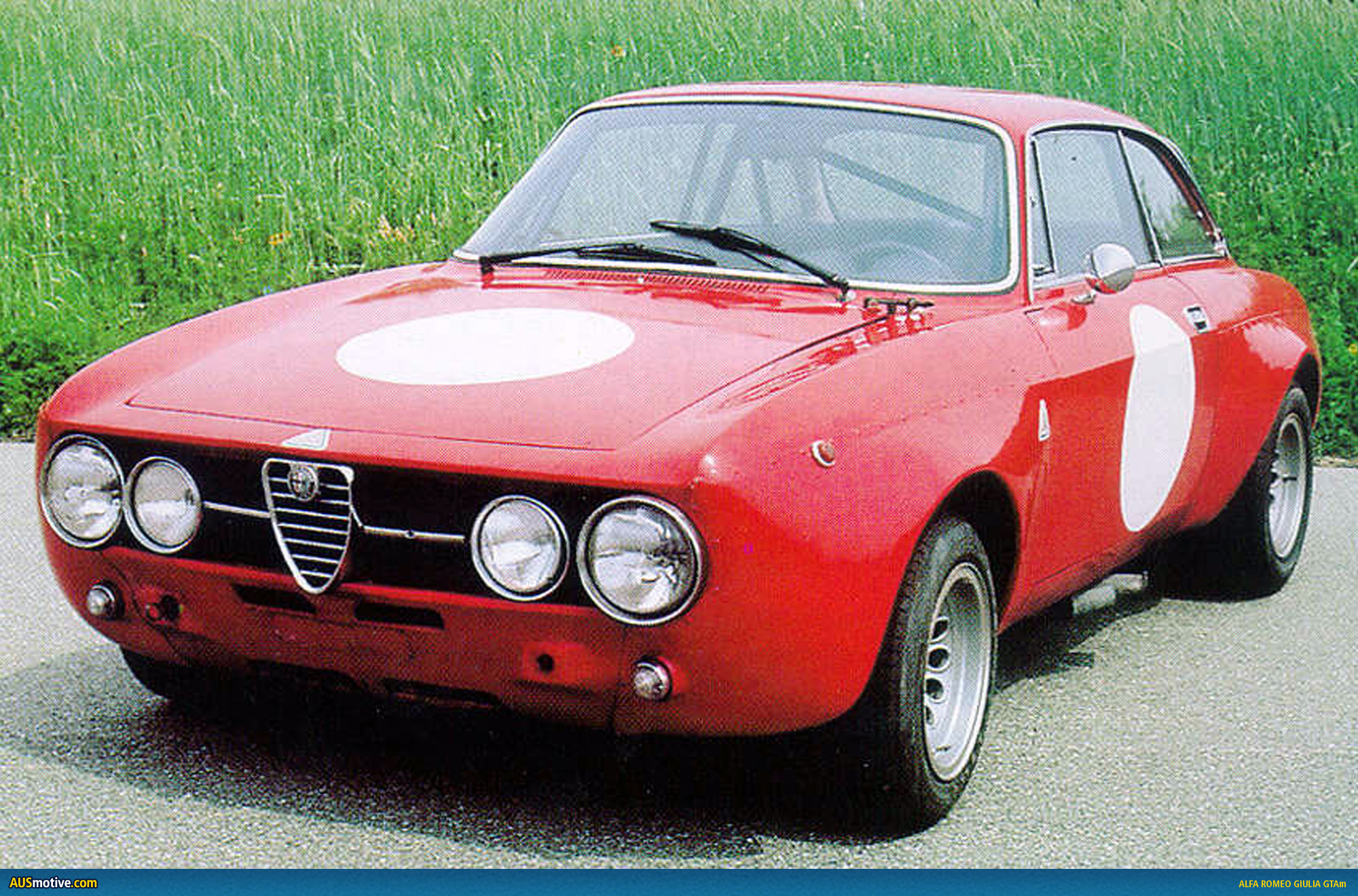 Alfa Romeo Giulia GTAm voted fan favourite Car Pictures High Resolution Image Wallpapers Download