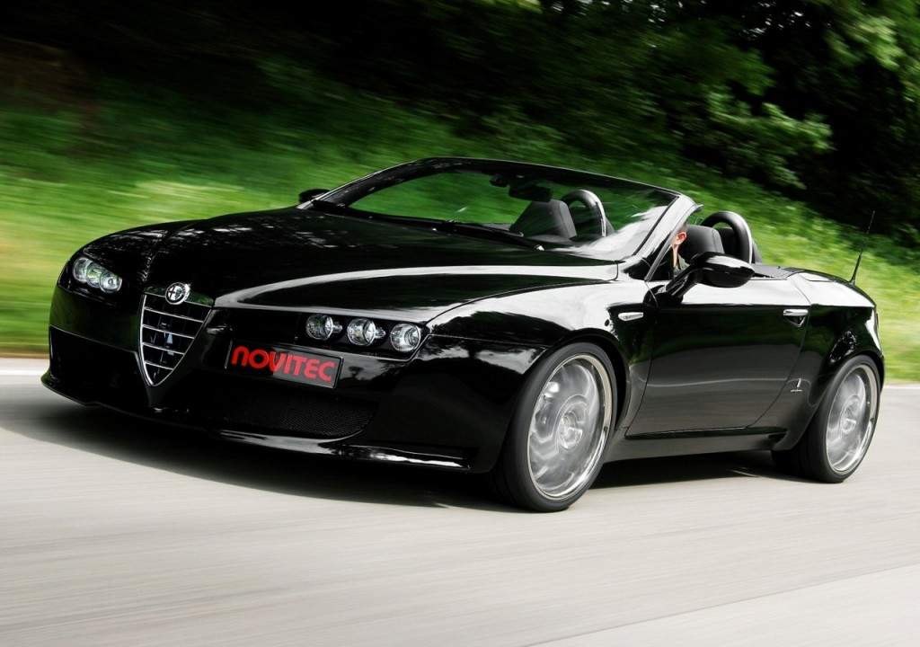 Alfa Romeo Spider Convertible Car Pictures Wallpapers Download