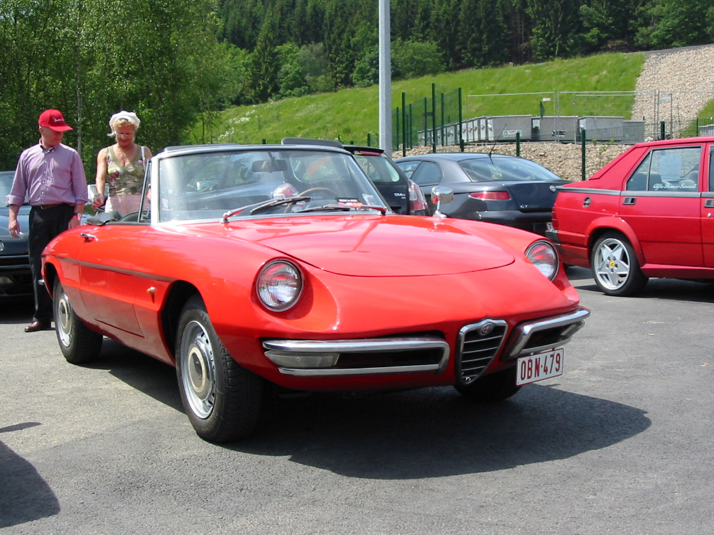Alfa Romeo Spider Duetto Beskrivelse High Resolution Image Wallpapers Backgrounds