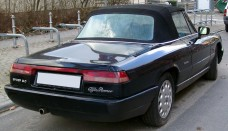 Alfa Romeo Spider rear Wallpapers Backgrounds