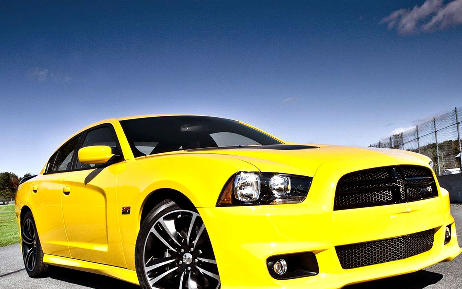 texas dodge amarillo Charger SRT8 Super Bee coche coches Mundo Wallpapers HD Wallpaper