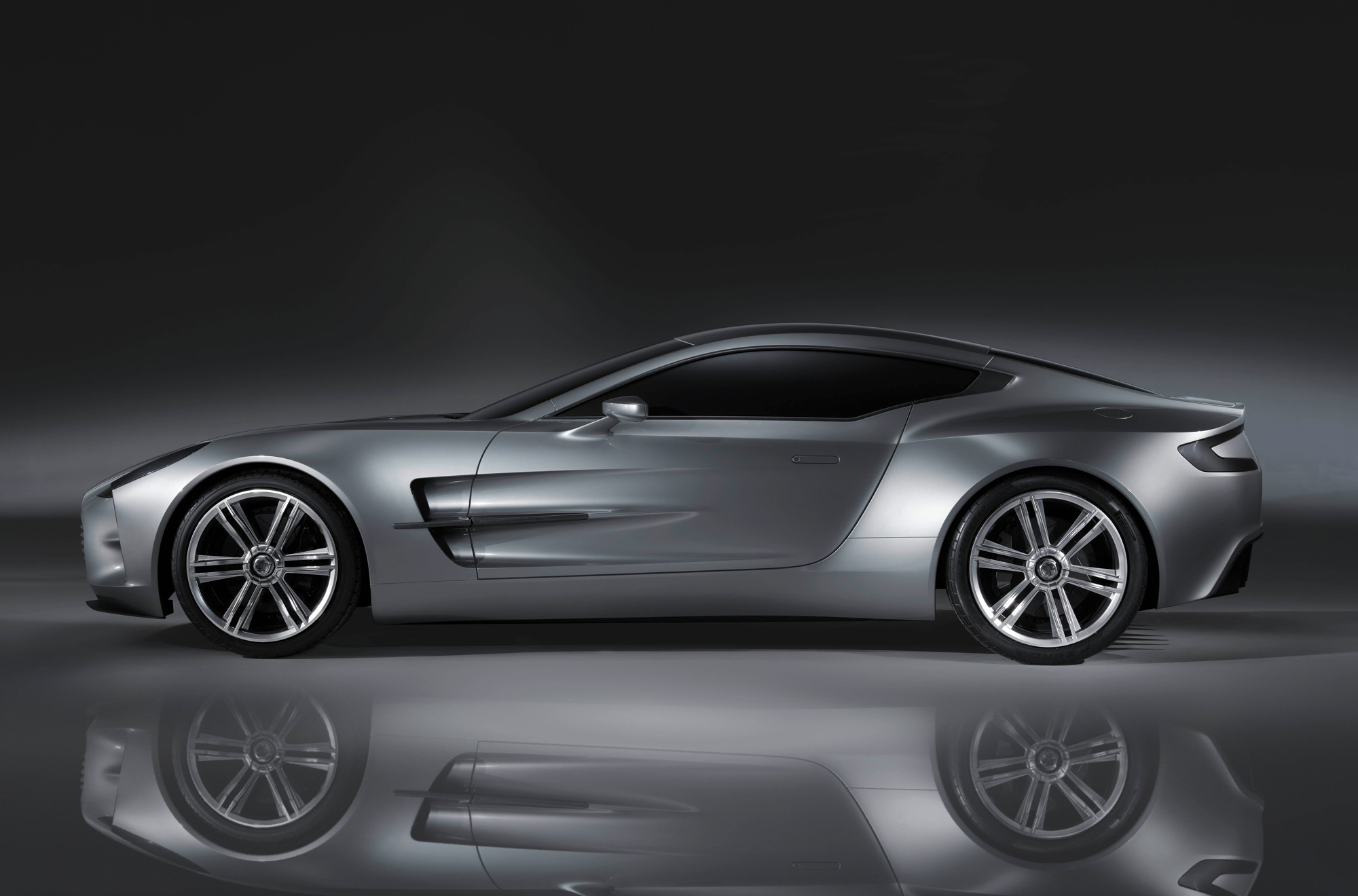 one 77 aston martin has lifted the wraps off the Geneva Motor Free Download Image