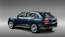 Bentley SUV Concept EXP 9F rear free download image