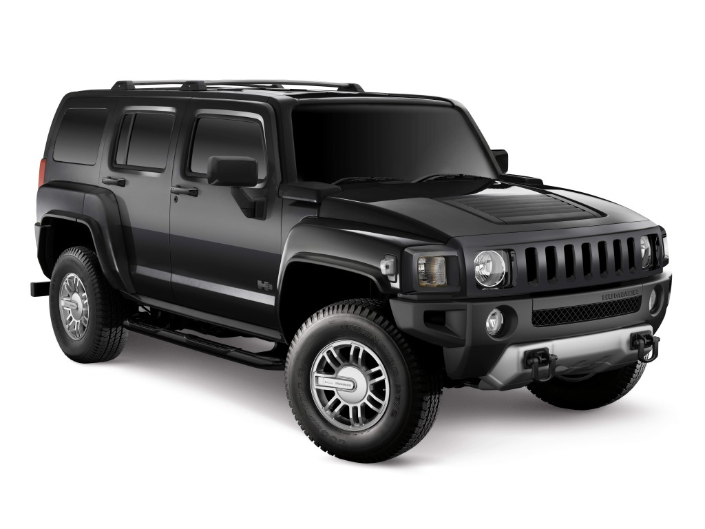 Black Hummer H3 High Resolution Wallpaper Free