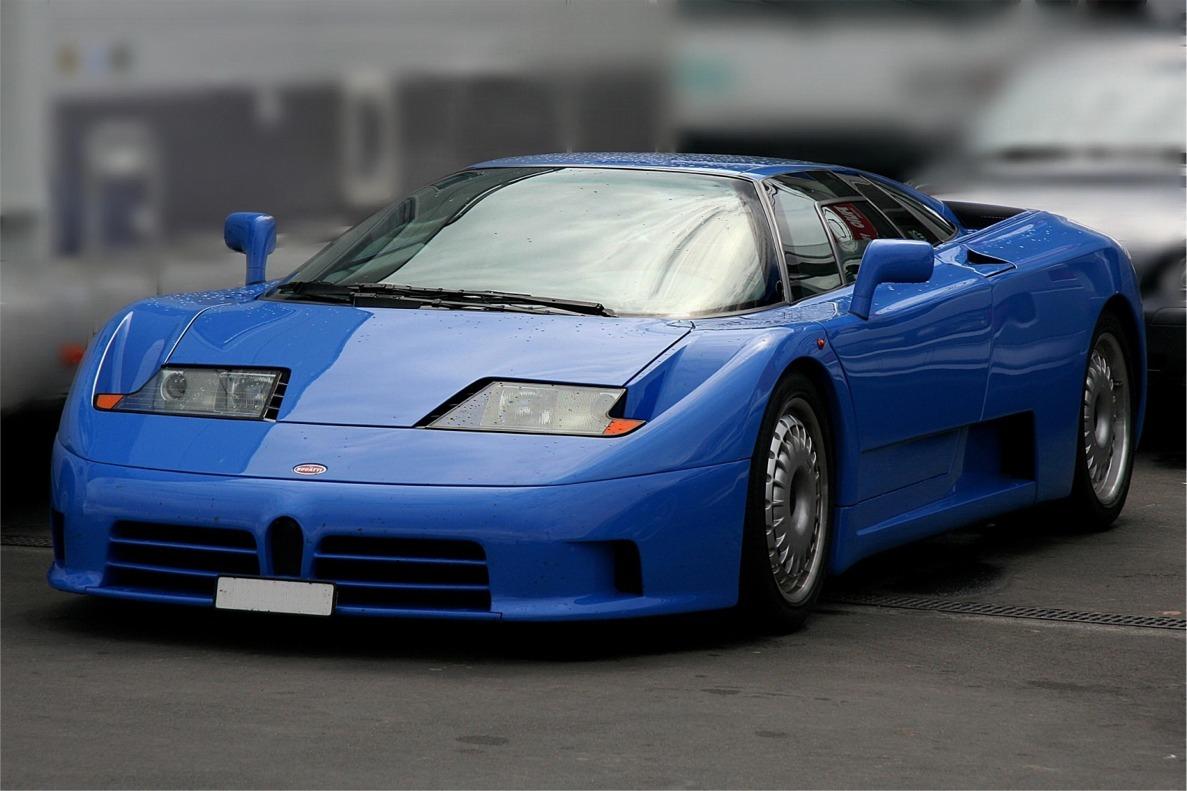 Bugatti EB110 image editor free download