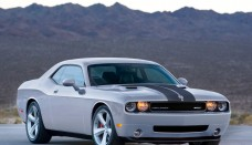 Dodge Challenger SRT8 silver gris Wallpaper HD Free