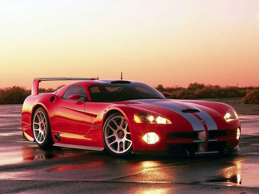 Dodge Viper Front view of super car present by dodge company model Wallpaper HD Download