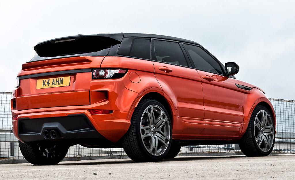 Kahn Range Rover Evoque Vesuvius Wallpapers Desktop Download