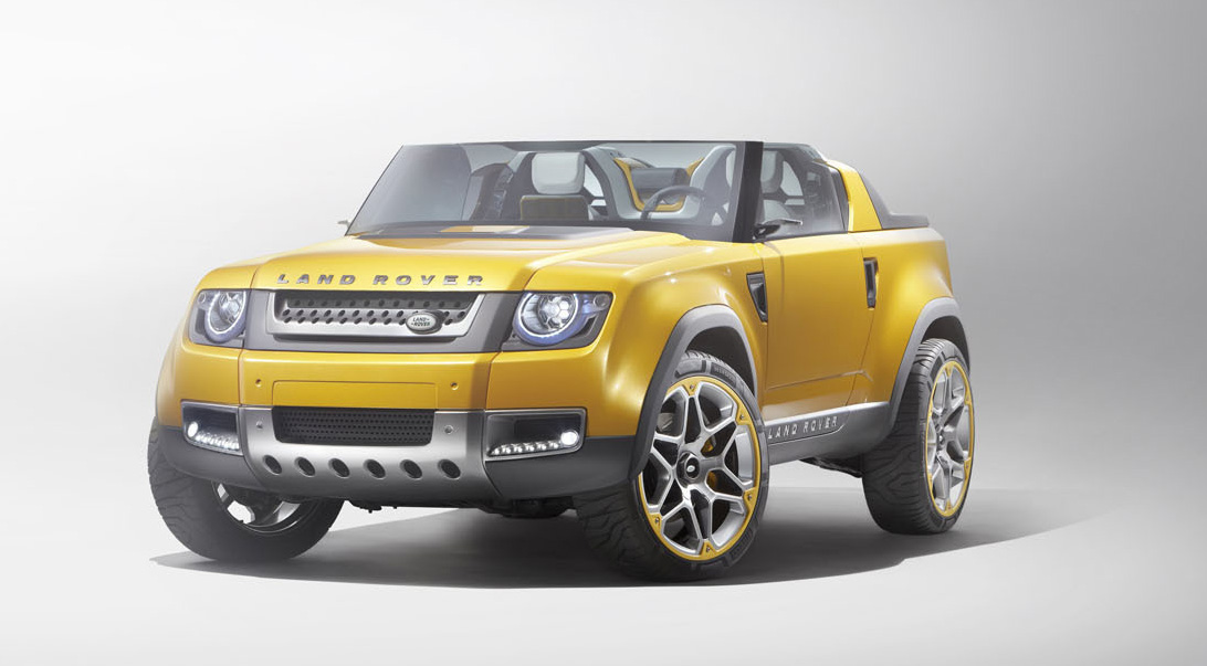Land Rover DC100 Sport Unveils Two New Defender Concepts Free Download Image