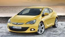 Opel Astra GTC Salon de Francfort picture models Wallpaper Backgrounds