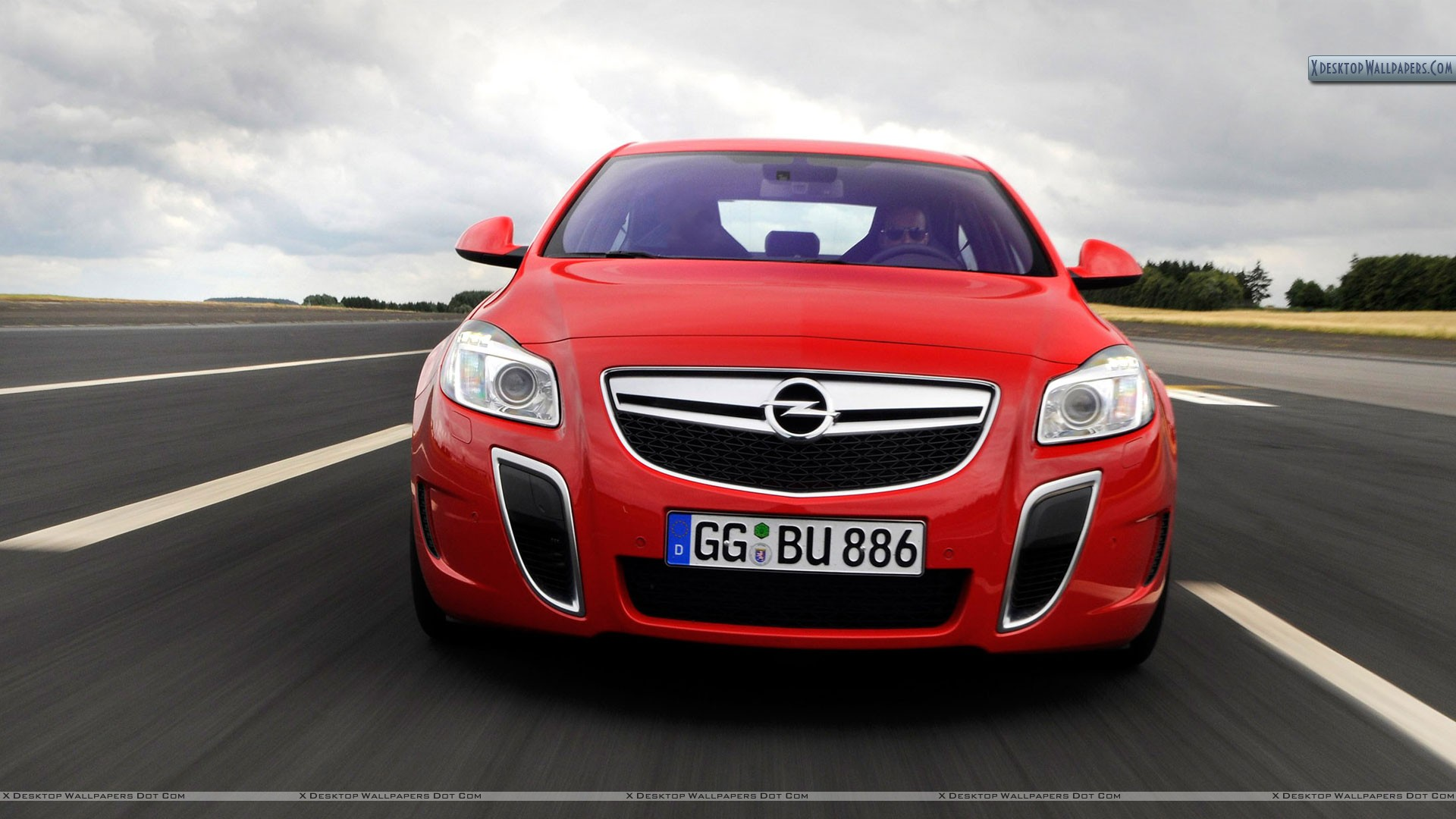 Opel Insignia Opc Unlimited Red Color Free Download Image Of