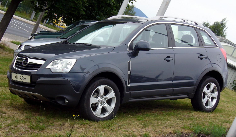 Opel Antara Tiefseeblau  Free Download Image Of