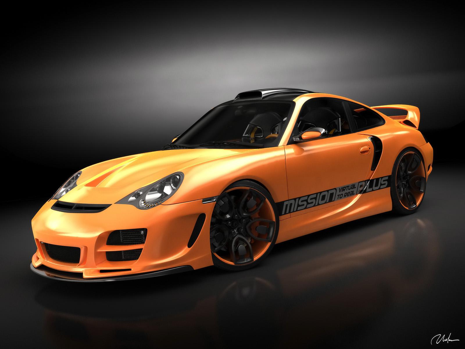PORSCHE 911 996 TOP ART CONCEPT DESIGN BY BOGDAN URDEA Addicted to Speed Desktop Backgrounds