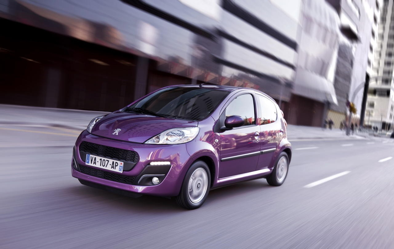 Peugeot 107 restyling rinnova Wallpapers Download