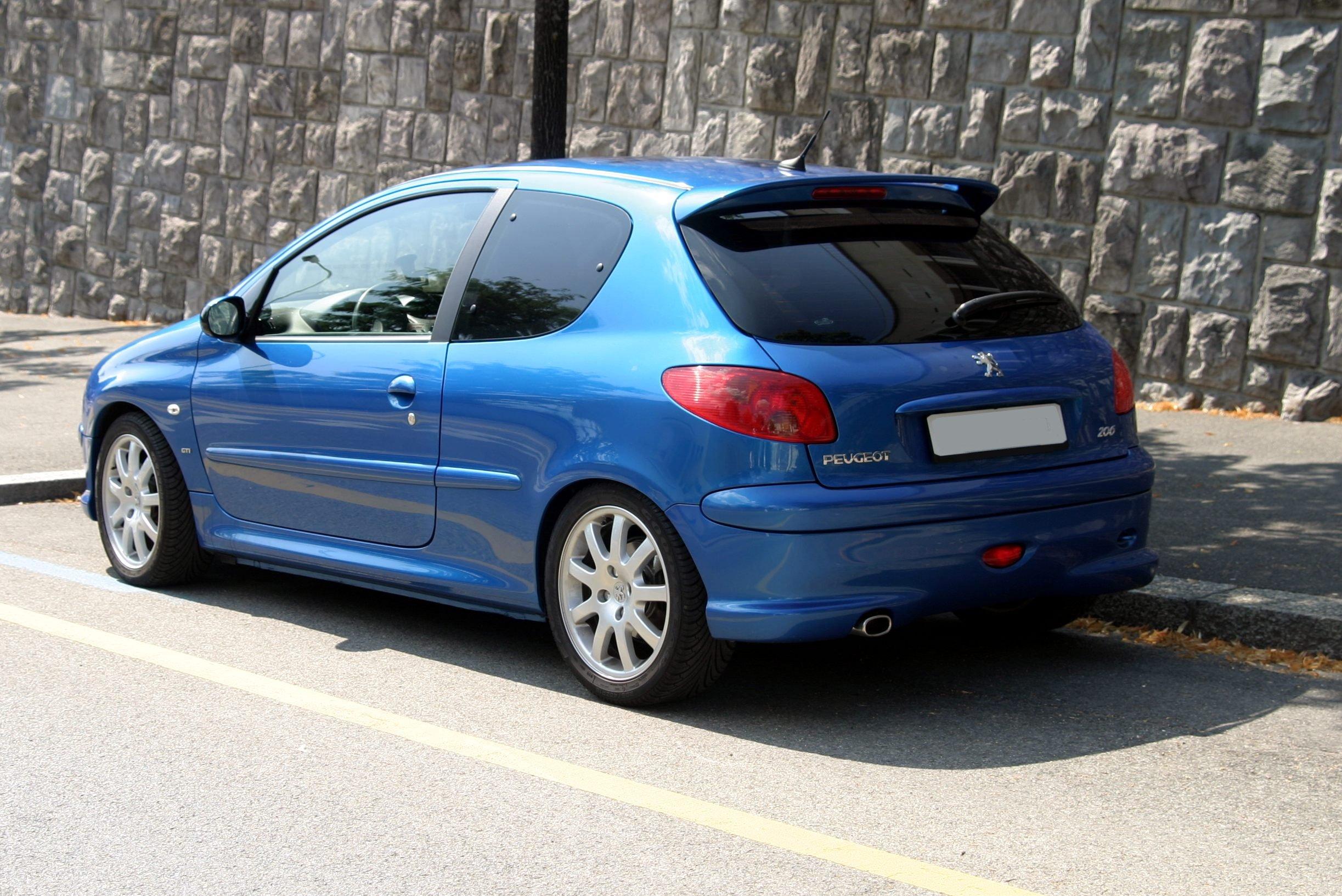 Peugeot 206 Wallpapers Desktop Download