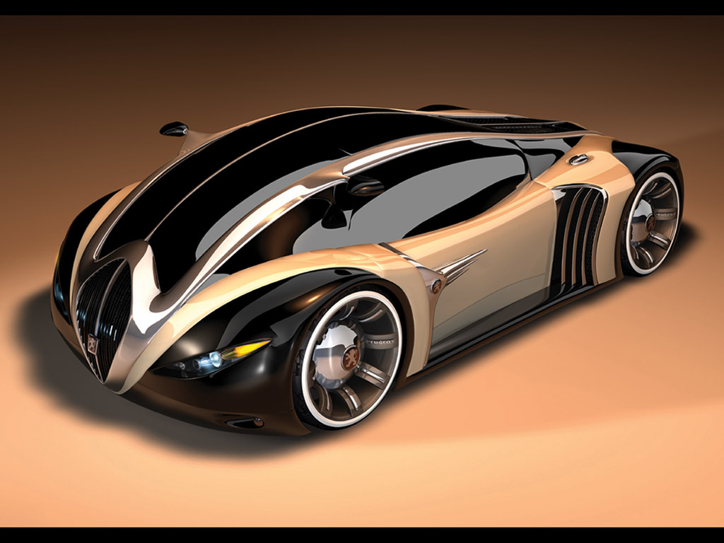 Peugeot 4002 Concept Front Angle Wallpaper Car Free Download Image Of
