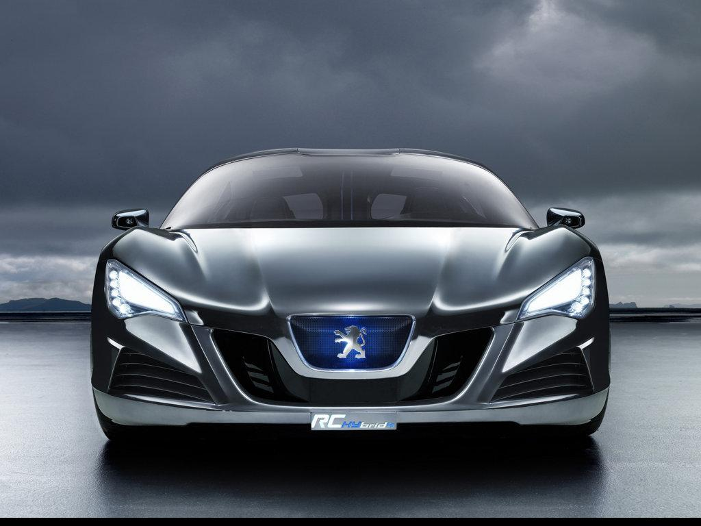 Peugeot RC Hybrid4 Concept Cars Wallpaper Backgrounds