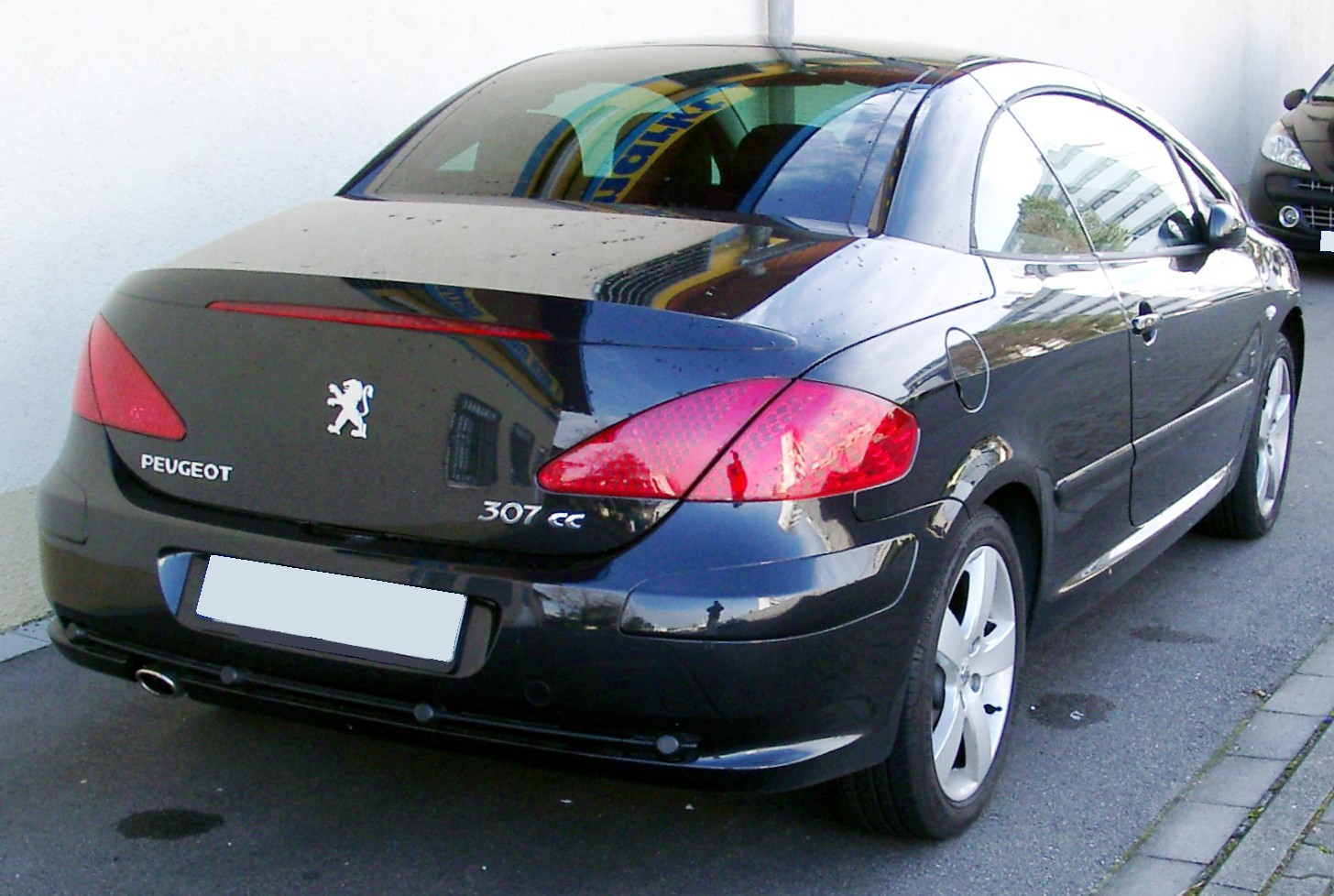 Peugeot 307CC rear Wallpaper Car Free Download Image Of