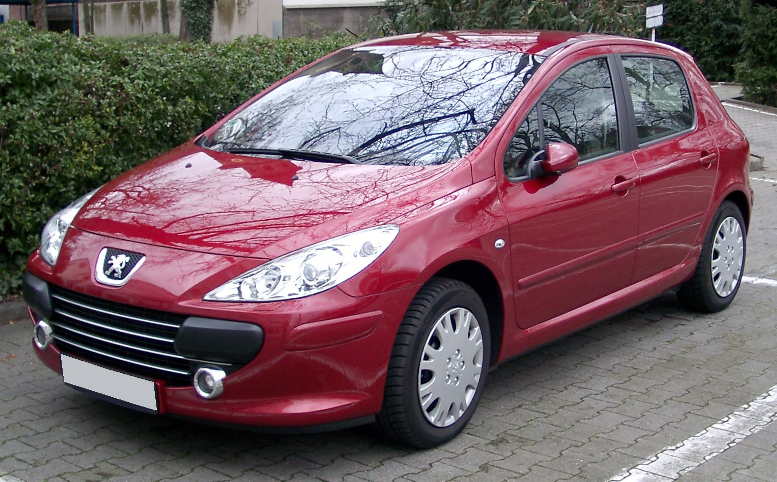 Peugeot 307 front Car Free Download Image Of