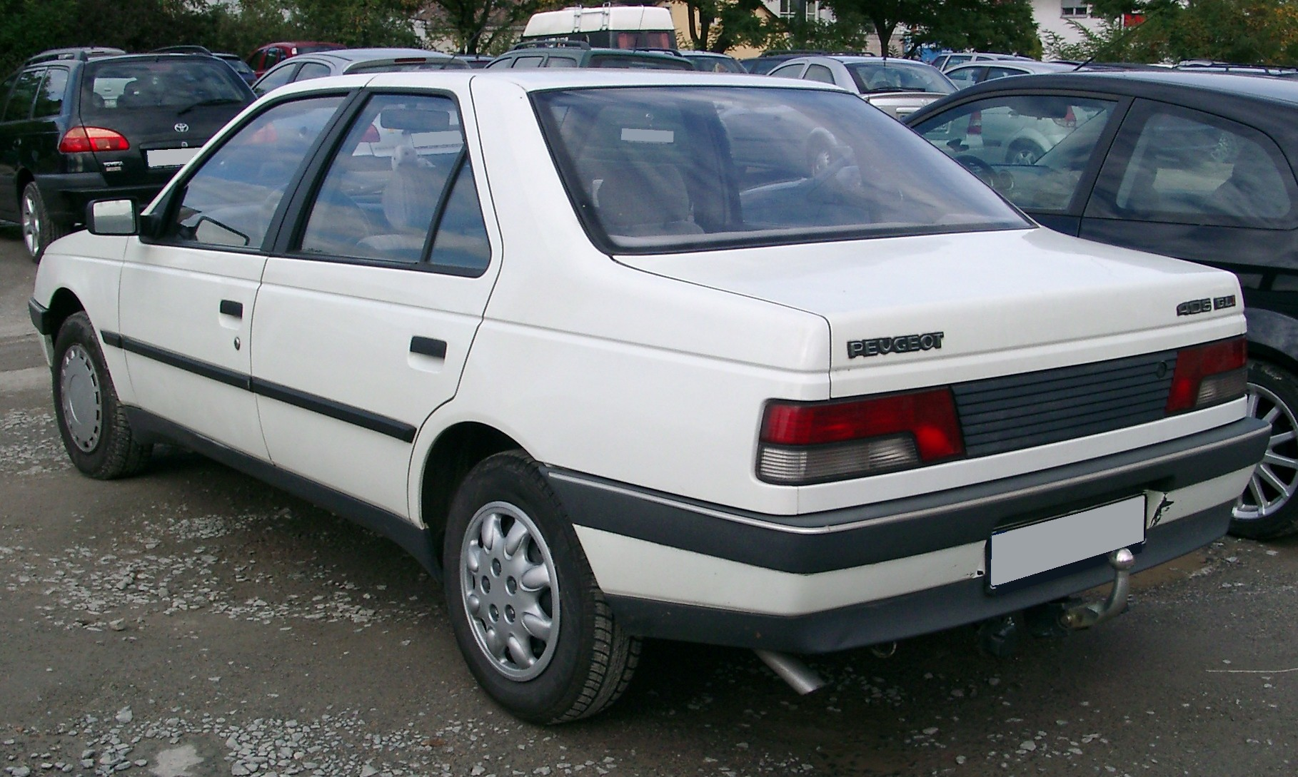 Peugeot 405 rear Show Wallpapers Download