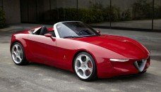 Pininfarina Alfa Romeo 2uettottanta Concept High Resolution Image Wallpapers Desktop Download