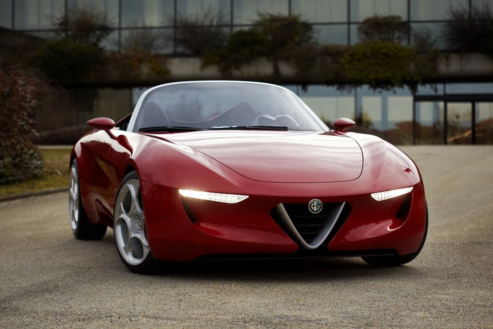 Pininfarina Alfa Romeo Spider High Resolution Image Wallpapers HD